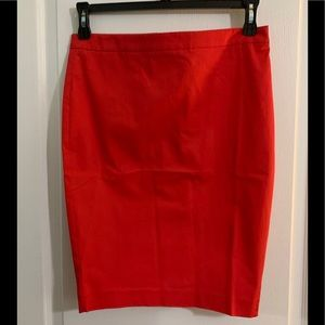 Body by Victoria new pencil skirt red size 8.